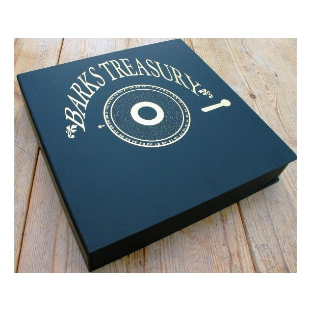 Barks Treasury Gold - Carl Barks signed boxset.
