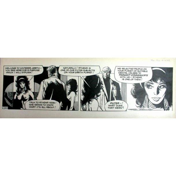 Frank Bellamy - Garth Daily Comic Strip 19-10-76