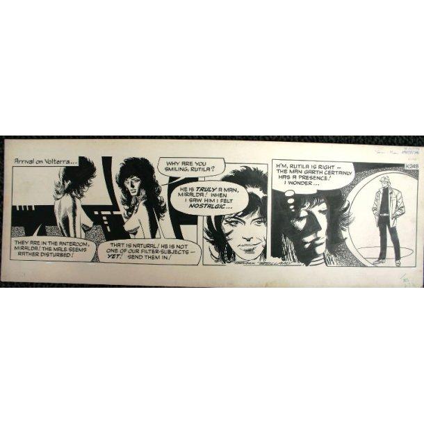 Frank Bellamy - Garth Daily Comic Strip 18-10-76