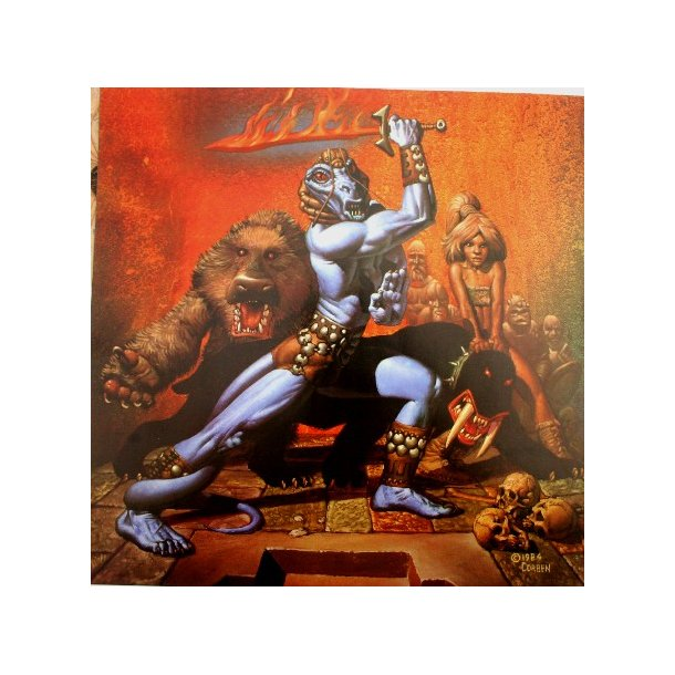 Corben - Classics Set 2, portfolio 1986.