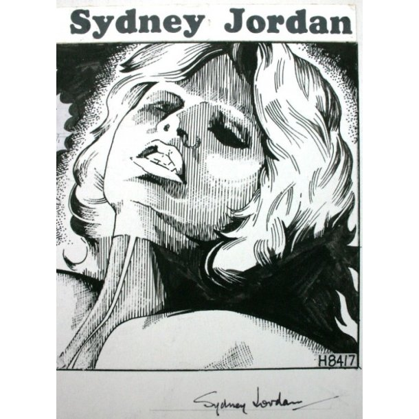 Sydney Jordan - Jeff Hawke strip H8417