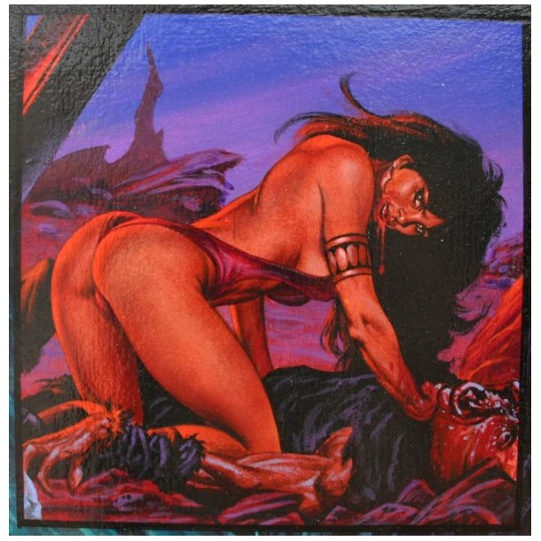 Joe Jusko - Vampirella: Blood Lust 1, side 11.