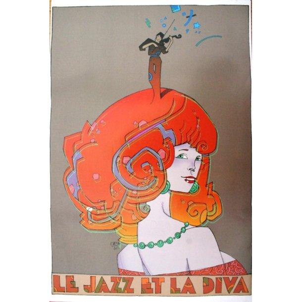 Caza - Jazz-plakat, 2005.