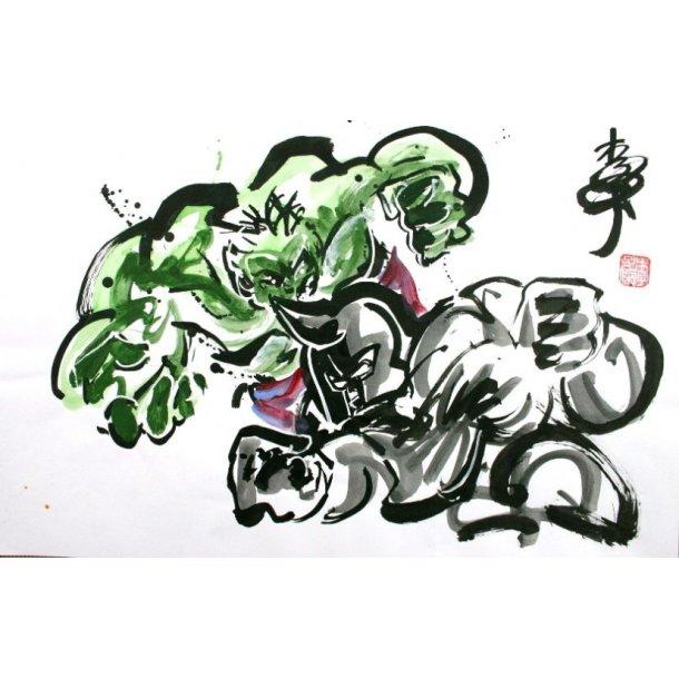 Andy Lee - Hulk vs. Rhino