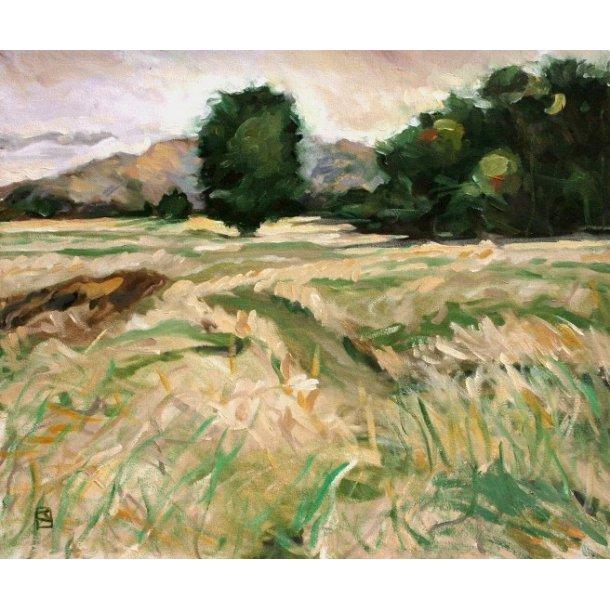 Jeffrey Jones - The Gulf, oil om canvas.