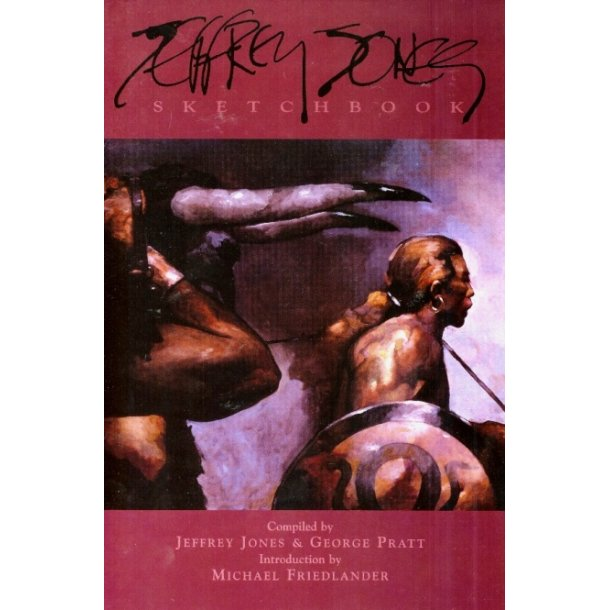 Jeffrey Jones Sketchbook HC, signeret
