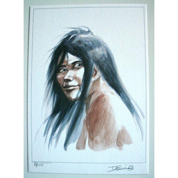 Derib - Chinook S/N lithograph
