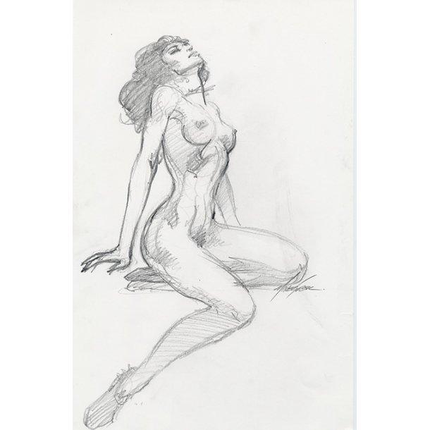 Mike Grell - Shakira Nude 01