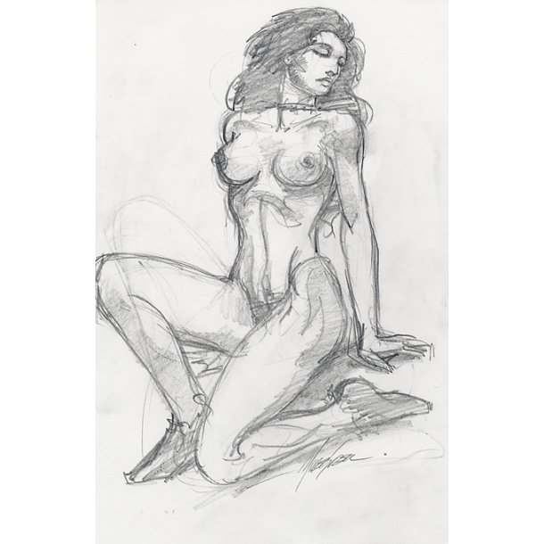 Mike Grell - Shakira Nude 02