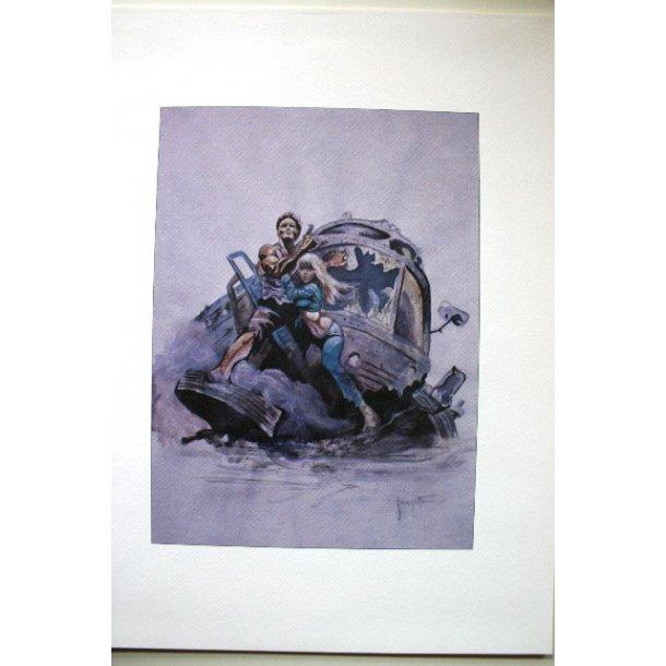 Frank Frazetta - Untitled print (not signed)
