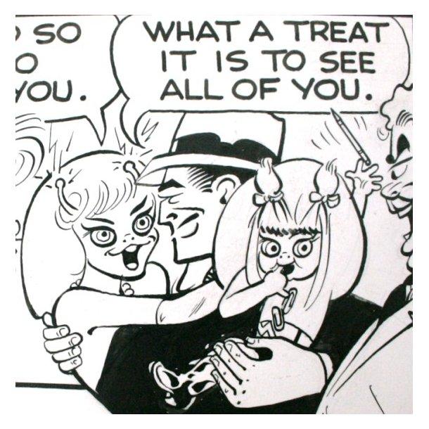Gould - Dick Tracy, søndagsside 1966