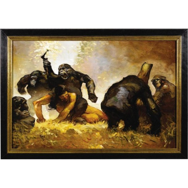 Jeffrey Jones - Tarzan oliemaleri 1997