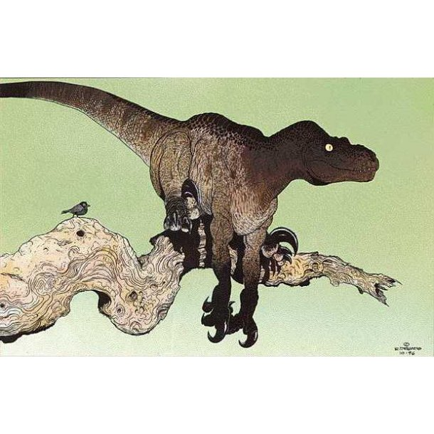 R. Delgado - Utahraptor Ostrommaysi