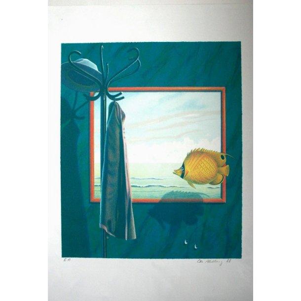 Ole Ahlberg - Fish, 1988