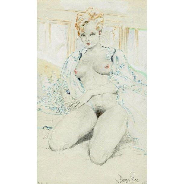 Denis Sire - Sweet, blyant/akvarel 1987.