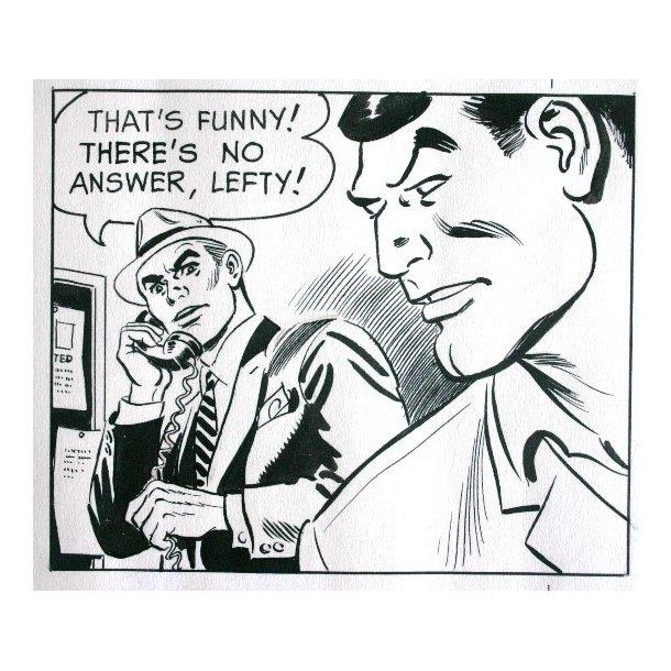 Alfred Andriola - Kerry Drake søndagsside 1967