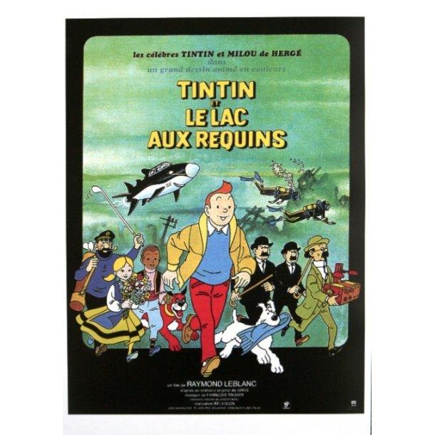Hergé - Tintin og hajsøen, 1972