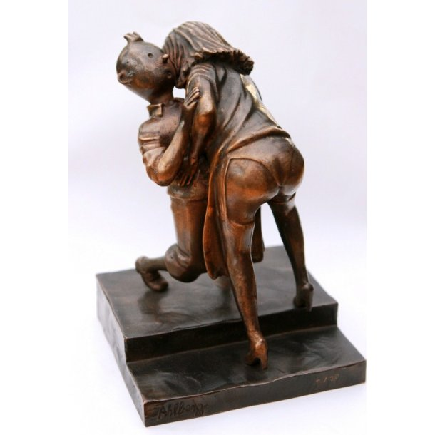 Ole Ahlberg - Couple In Trouble, bronze