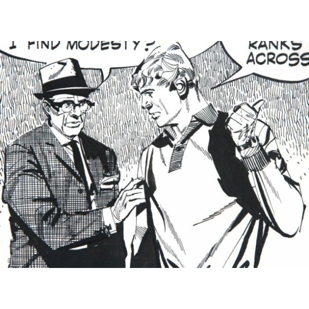 Jim Holdaway - Modesty Blaise strip 1272