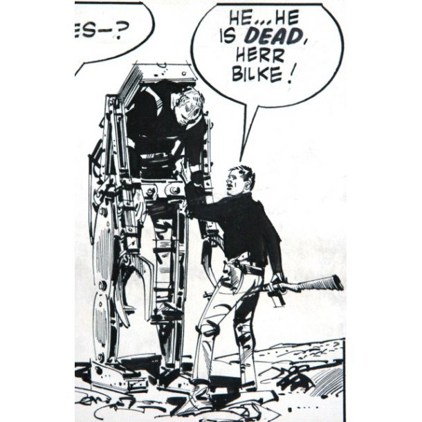Jim Holdaway - Modesty Blaise strip 1340
