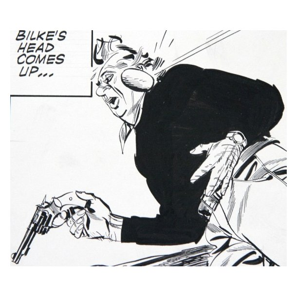 Jim Holdaway - Modesty Blaise strip 1344