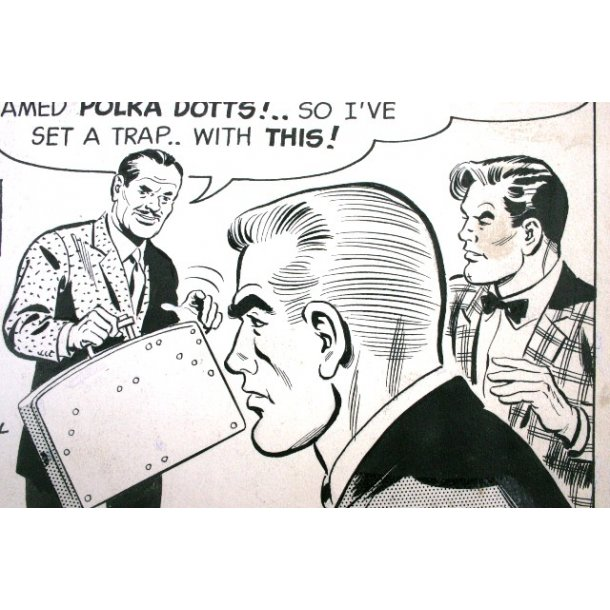 Alfred Andriola - Kerry Drake daily 1962