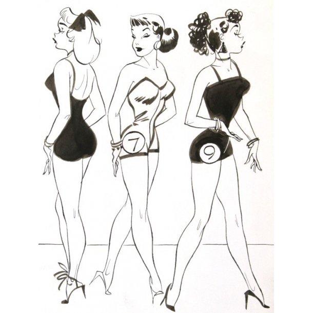 Don Flowers - Glamor Girls Sunday 07-27-1958.