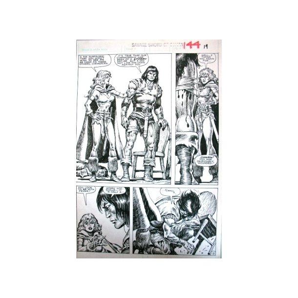 Ernie Chan - Savage Sword of Conan 144, page 13