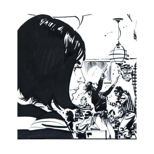 Jim Holdaway - Modesty Blaise strip 1495