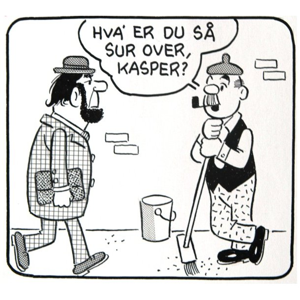 Bille - Viceværten strip 19221