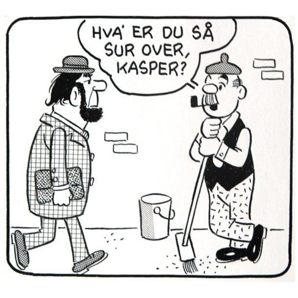 Bille - Viceværten strip 19221