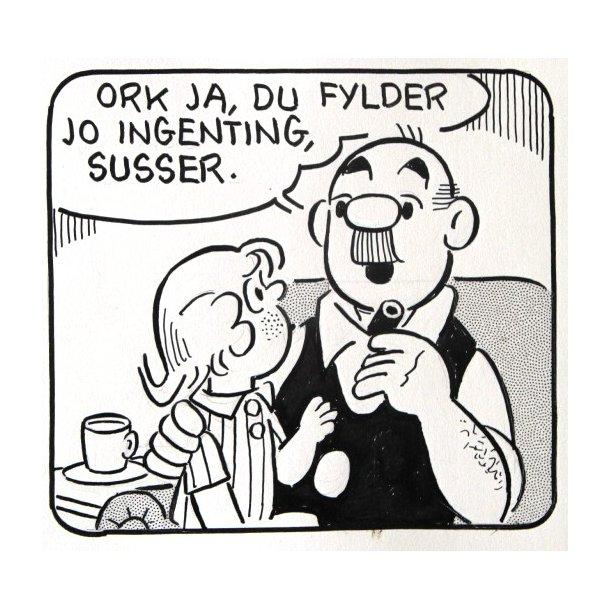 Bille - Viceværten strip 19581