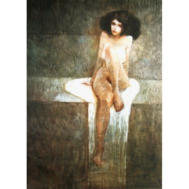 Jeffrey Jones - Sitting Woman
