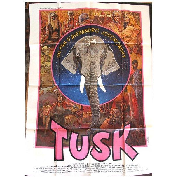 Moebius/Giraud - ''Tusk'', filmplakat