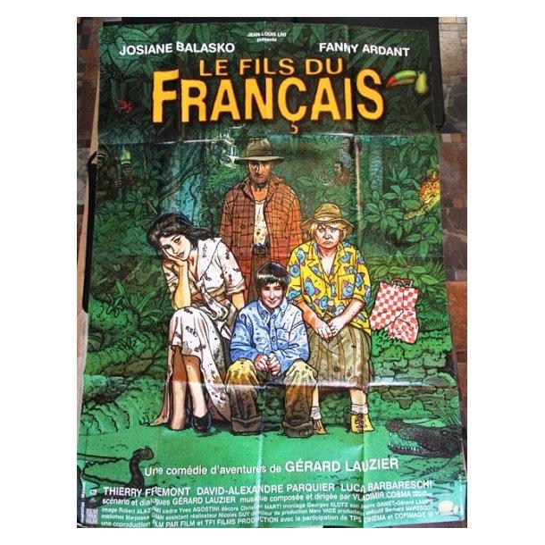 Moebius/Gir. - ''Le Fils du Francais'', filmplakat
