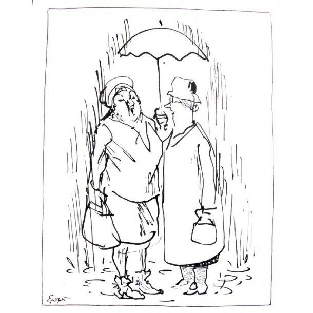 Erik Werner - Giftemål i regn