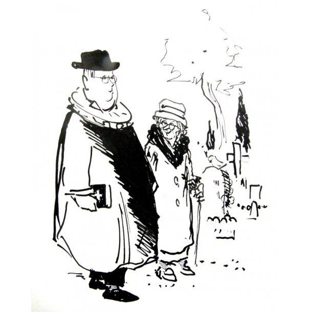 Erik Werner - På kirkegården