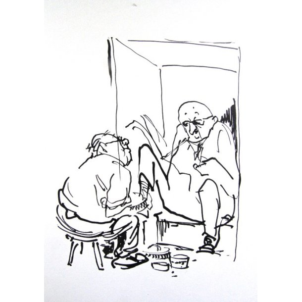 Erik Werner - Hos skopudseren