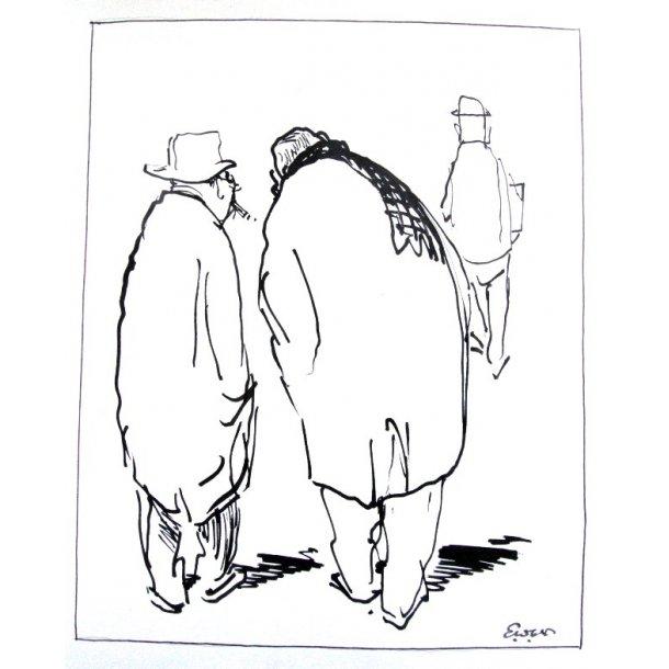 Erik Werner - Dialog på gaden