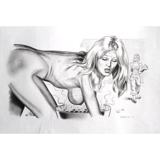 Rebecca - Grilled Tits