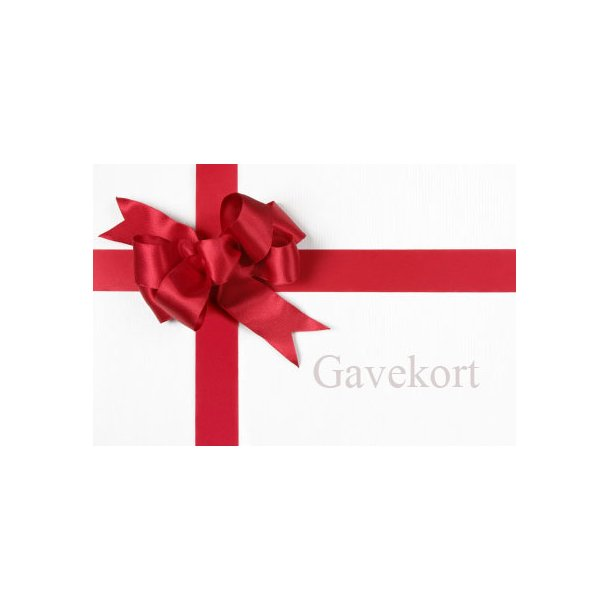 Gavekort - 800 kr.