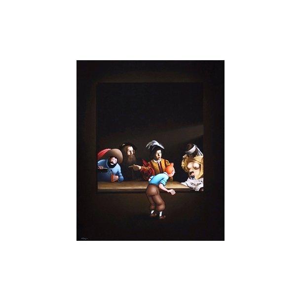 Ole Ahlberg - Caravaggio's Dream, 2014