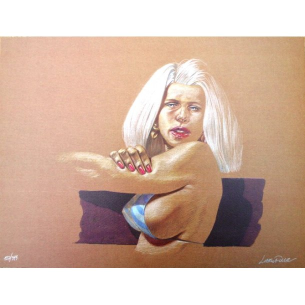 Liberatore - Erotic print (signed and numbered) 01