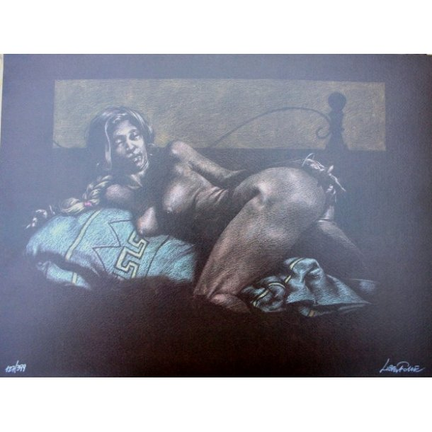 Liberatore - Erotic print (signed and numbered) 02