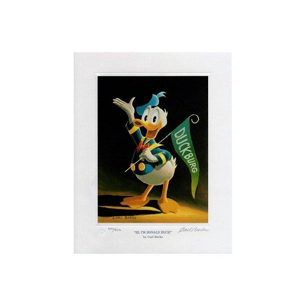 Carl Barks - Hi, I'm Donald Duck