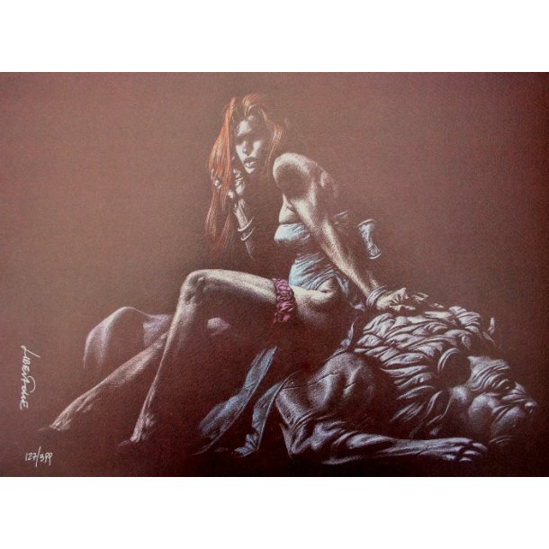 Liberatore - Erotic print (signed and numbered) 04