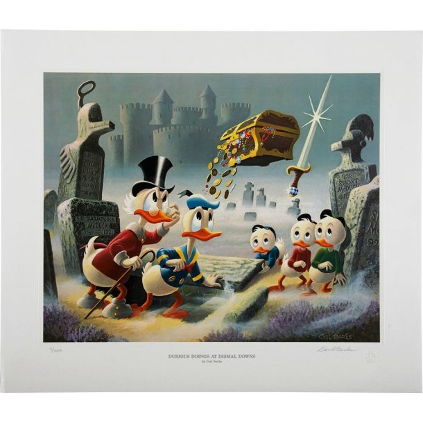 Carl Barks - Dubious Doings at Dismal Downs