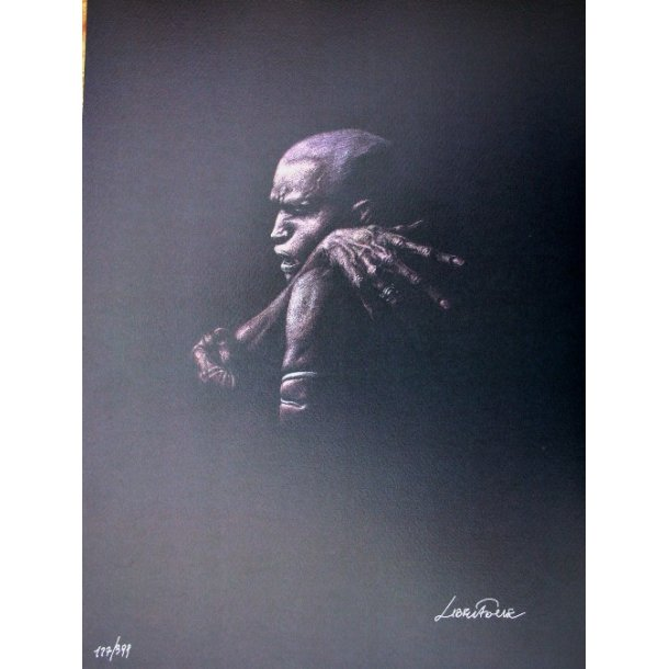 Liberatore - Erotic print (signed and numbered) 07