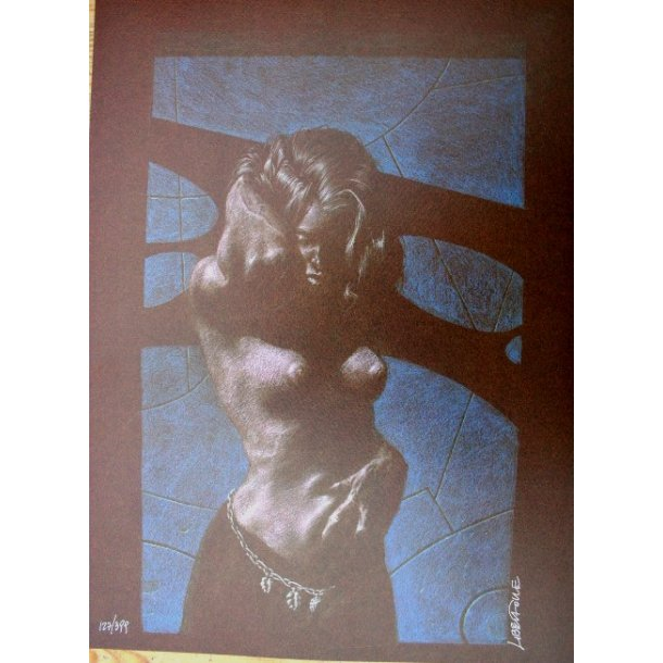 Liberatore - Erotic print (signed and numbered) 08