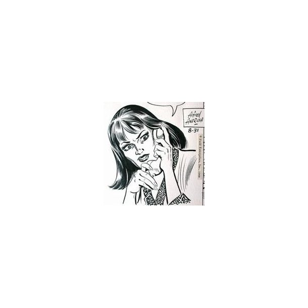 Alfred Andriola - Kerry Drake daily 1968